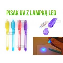 XM51 PISAK DŁUGOPIS FLAMASTER LAMPKA LED TESTER UV