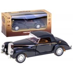 ZB2050 Metalowe Auto Retro Vintage wydaje światło dźwięk