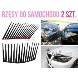 XM204 AUTO RZĘSY DO SAMOCHODU SAMOCHODOWE 2 sztuki