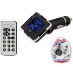 OG33 CAR FM TRANSMITER LCD TFT
