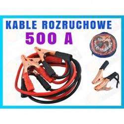 XM110 KABLE MIEDZIOWANE PRZEWODY ROZRUCHOWE 500 A