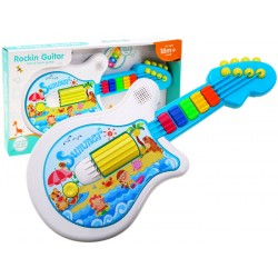 ZB1755 GITARA Interaktywna Gitarka gra świeci