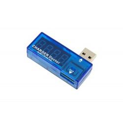 AK306B MIERNIK TEST PRĄDU ŁADOWANIA WOLTOMIERZ USB