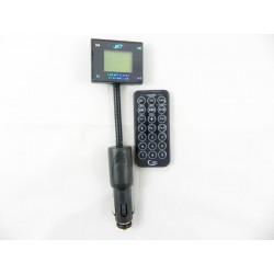 XM64 Transmiter FM z MP3 LCD USB GIĘTKI WYSIĘGNIK