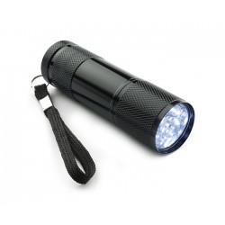 LATARKA LAMPKA DIODOWA 9 LED ALUMINIUM BRELOK XM14