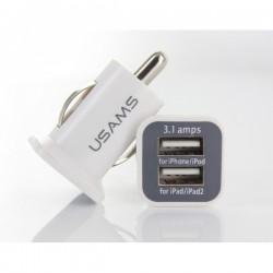 ŁADOWARKA SAMOCHODOWA ZAPALNICZKI USB 5V 3A PLS34E