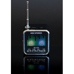 ZS23 GŁOŚNIK RADIO Z USB MP3 PLAYER CUBE