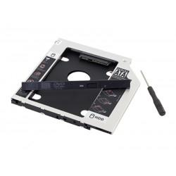 KIESZEŃ NA DYSK SSD HDD 2,5'' SATA 9,5 MM AK184B