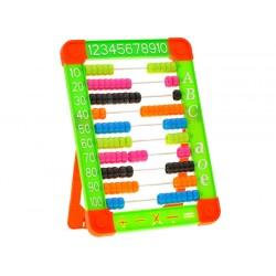 Kolorowe Liczydło szkolne plastikowe ZB1358