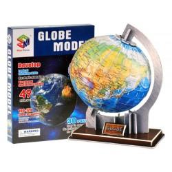 GLOBUS 3D PRZESTRZENNE Puzzle 49 elementy ZB0936