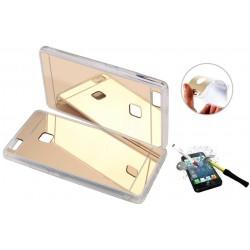 Pokrowiec iPhone 5 5s 5se ETUI Mirror +SZKŁO ET46m