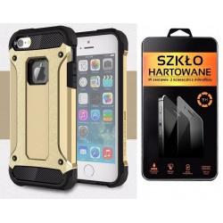 iPhone 5 5s 5se ETUI PANCERNE FUTERAŁ +SZKŁO ET46r