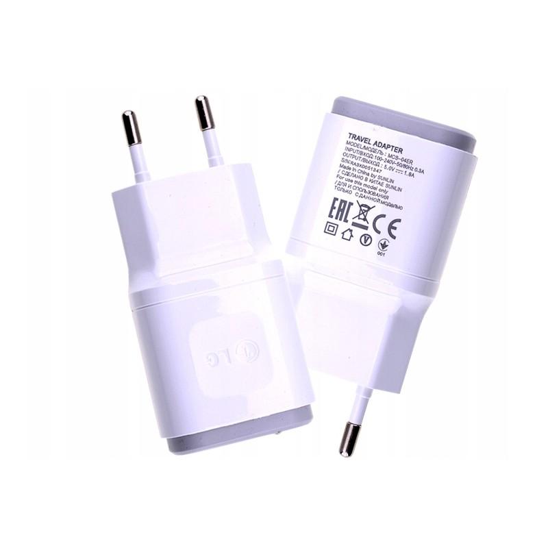 ORYGINALNA ŁADOWARKA LG MCS 04ER+EAD62329704 1.8A MICRO USB