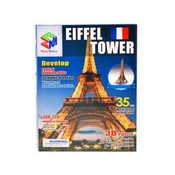 ZB113 PUZZLE 3D Wieża Eiffla 35 ELEMENTÓW puzle