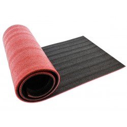 FT16A MATA FITNESS 180x50CM BLACK+RED