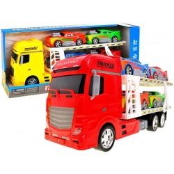Transporter z autkami Duże auto tir autka ZB1600