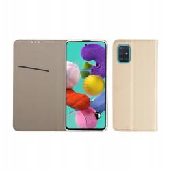 Etui do Samsung Galaxy A51 SMART AGNET ZŁOTE