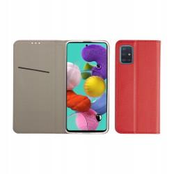 Etui do Samsung Galaxy A51 SMART MAGNET CZERWONE