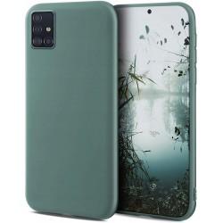 Etui do Samsung Galaxy A51 SOFT MATT SZARE