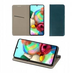Etui do Samsung Galaxy A51 SMART MAGNETIC ZIELONE