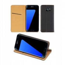Etui do Samsung Galaxy S7 Edge SMART MAGNET SKÓRZANE CZARNE