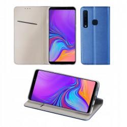 Etui do Samsung Galaxy A9 2018 SMART MAGNET GRANATOWE
