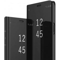 Etui do Huawei P8 P9 Lite 2017 CLEAR VIEW CZARNE