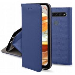 ET605SM_GRANATOWY ETUI SMART LG K61 GSM100257