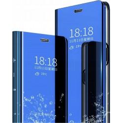 ET605A_NIEBIESKI ETUI CLEAR LG K61 GSM100155