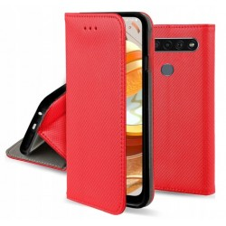 ET605SM_CZERWONY ETUI SMART LG K61 GSM100259