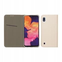 ET463SM_ZLOTY Etui Smart Samsung A10 GSM042506