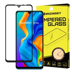 Szkło Hartowane do Huawei P30 Lite Cały Ekran 5D