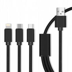 MX5 KABEL USB-LIGHTNING-USB 2,1A OEM001520