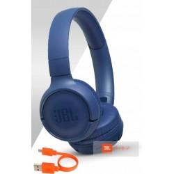 JBL19 SŁUCHAWKI JBL T500 NAUSZNE BLUE