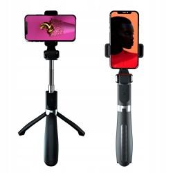XO selfie Stick bluetooth tripod SS08 czarny