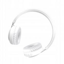 XO Słuchawki bluetooth BE10 białe nauszne