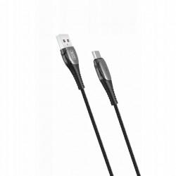 XO kabel NB145 USB - USB-C 1,0 m 2,4A czarny