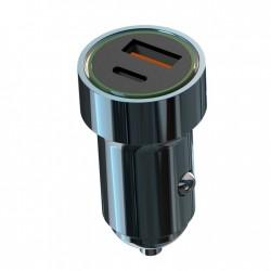 XO Ładowarka samochodowa CC32 2USB PD USB-C/ USB-A