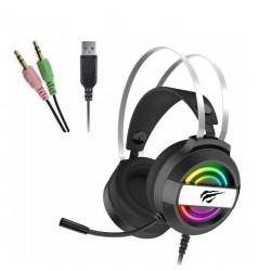 Słuchawki gamingowe z mikrofonem dla graczy RGB PC