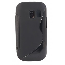 ET302S Etui Pokrowiec SLine Nokia Asha 302 + FOLIA