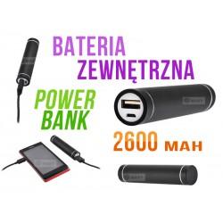 XM85 ZEWNĘTRZNA ŁADOWARKA BATERIA POWER BANK 2600