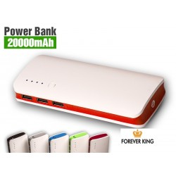 US20 BATERIA POWER BANK 20000 mAh POWERBANK +KABEL
