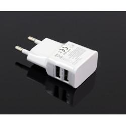 PLP48A UNIWERSALNA ŁADOWARKA SIECIOWA 2 x USB 2A