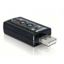 AK103B KARTA DŹWIĘKOWA USB7.1 MUZYCZNA PC LAPTOP