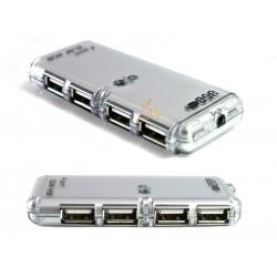 AK43A 4x HUB USB 2.0 ROZDZIELACZ PRZEDŁUŻKA HUBY