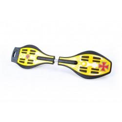 XM761 Deskorolka Waveboard żółta