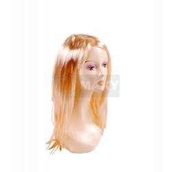XM794 Peruka długa damska blond