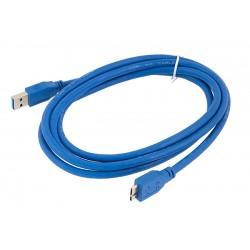 KP8 KABEL USB 3.0 A NA MICRO USB B 1,8M DO DYSKU (