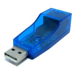 AK23 KARTA SIECIOWA ETHERNET USB 100 Mbps LAN RJ45