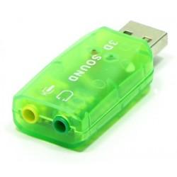 AK103 KARTA DŹWIĘKOWA USB 5.1 MUZYCZNA PC LAPTOP